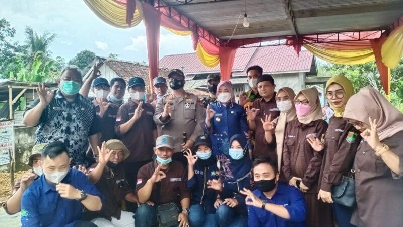 Kapolres dan Bupati Musi Rawa Peletakan Batu Pertama RTLH